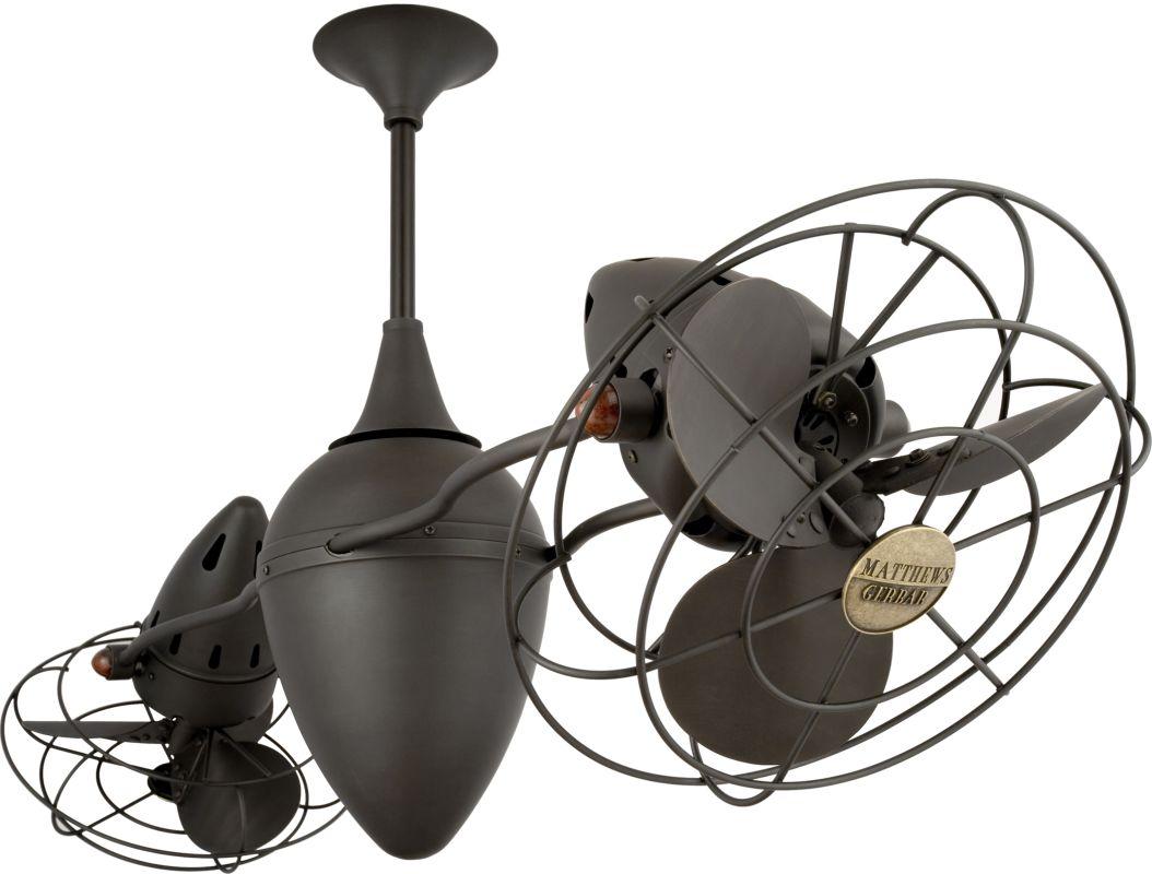 """Matthews Fan Company AR-MTL Ar Ruthiane 46"""" Dual Rotational Ceiling"""