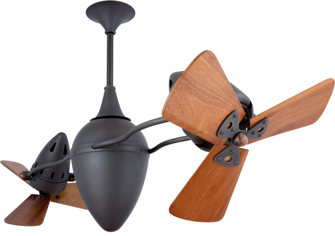 """Matthews Fan Company AR-WD Ar Ruthiane 48"""" Dual Rotational Ceiling Fan"""