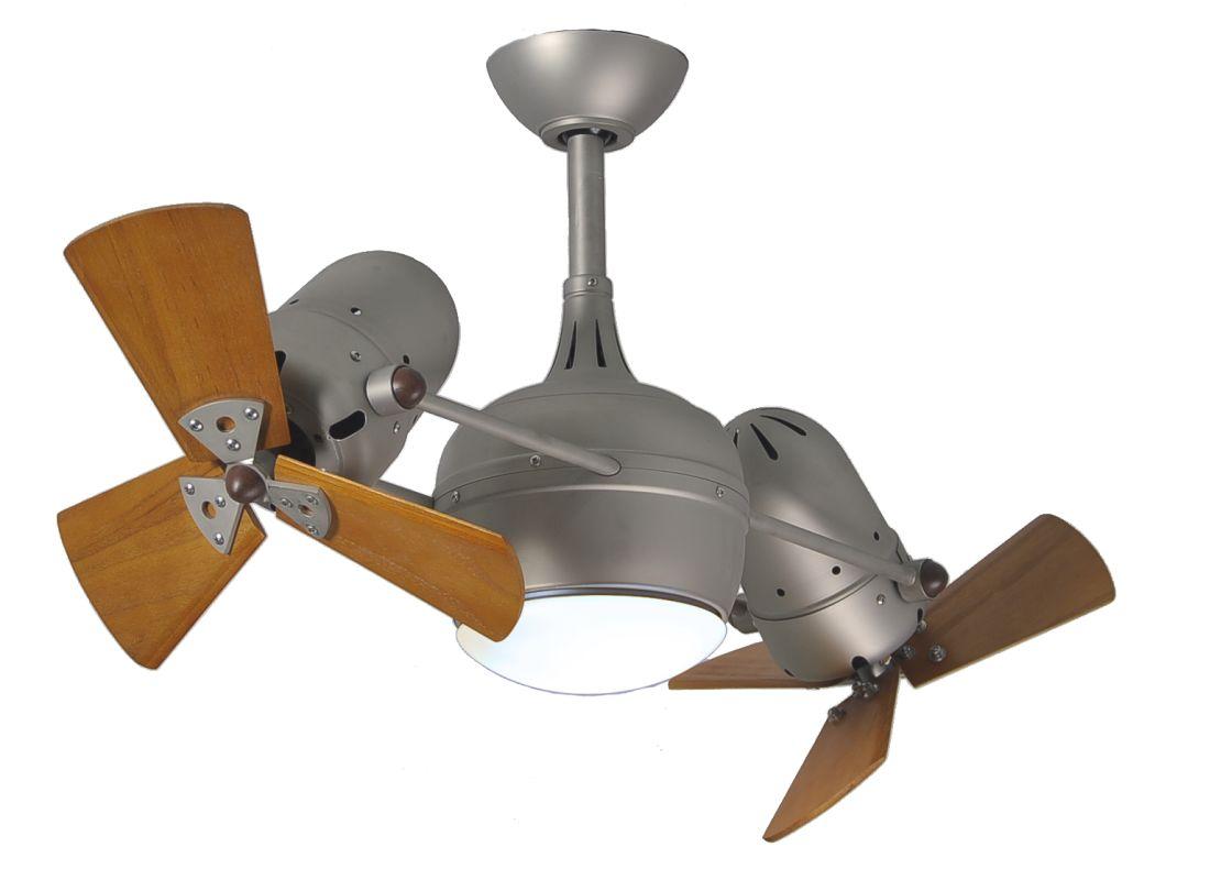 """Matthews Fan Company DGLK-WD Dagny 41"""" Rotational Ceiling Fan with"""