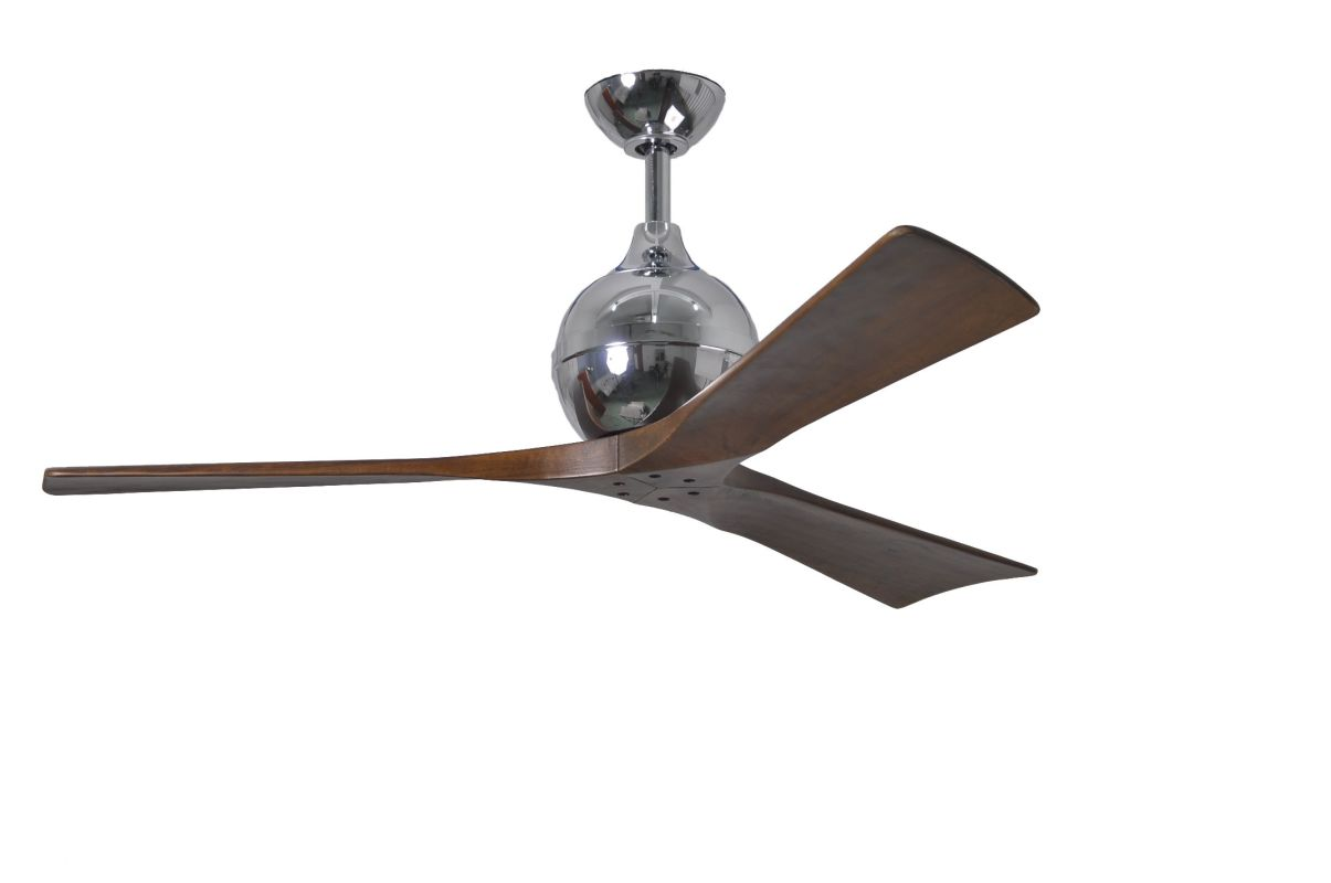 "Matthews Fan Company IR3 Irene-3 52"" Paddle Ceiling Fan - Blades and"