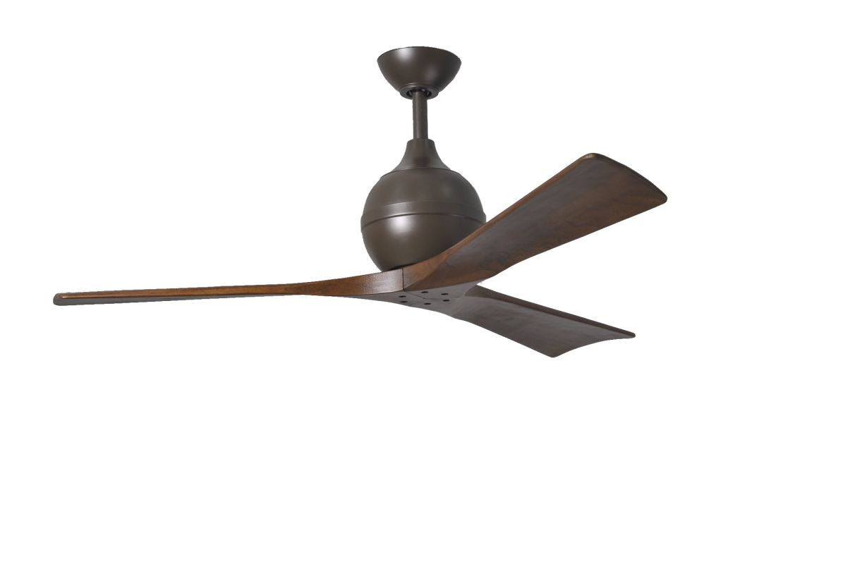 "Matthews Fan Company IR3 Irene-3 52"" Paddle Ceiling Fan - Blades and"