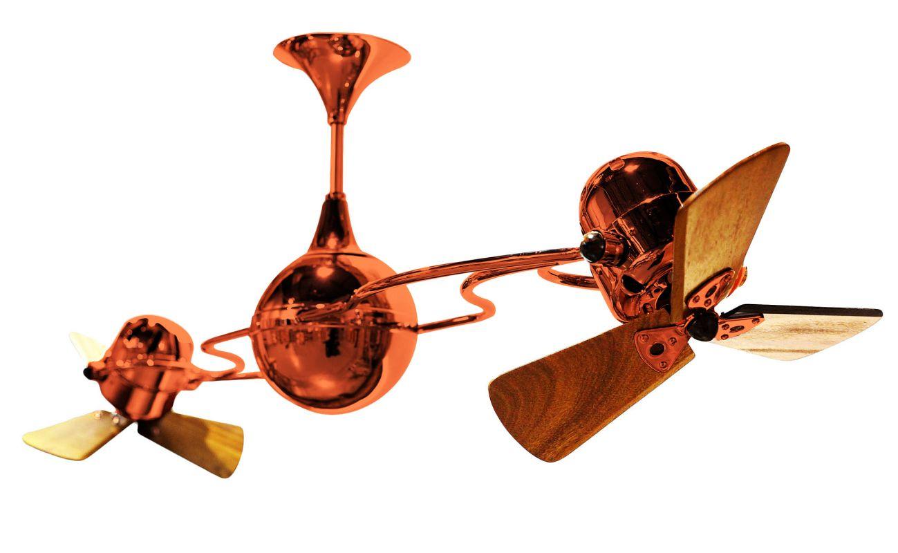 """Matthews Fan Company IV-WD Italo Ventania 62"""" Rotational Ceiling Fan -"""