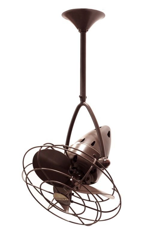 "Matthews Fan Company JD-MTL Jarold Direcional 13"" Ceiling Fan - Blades"