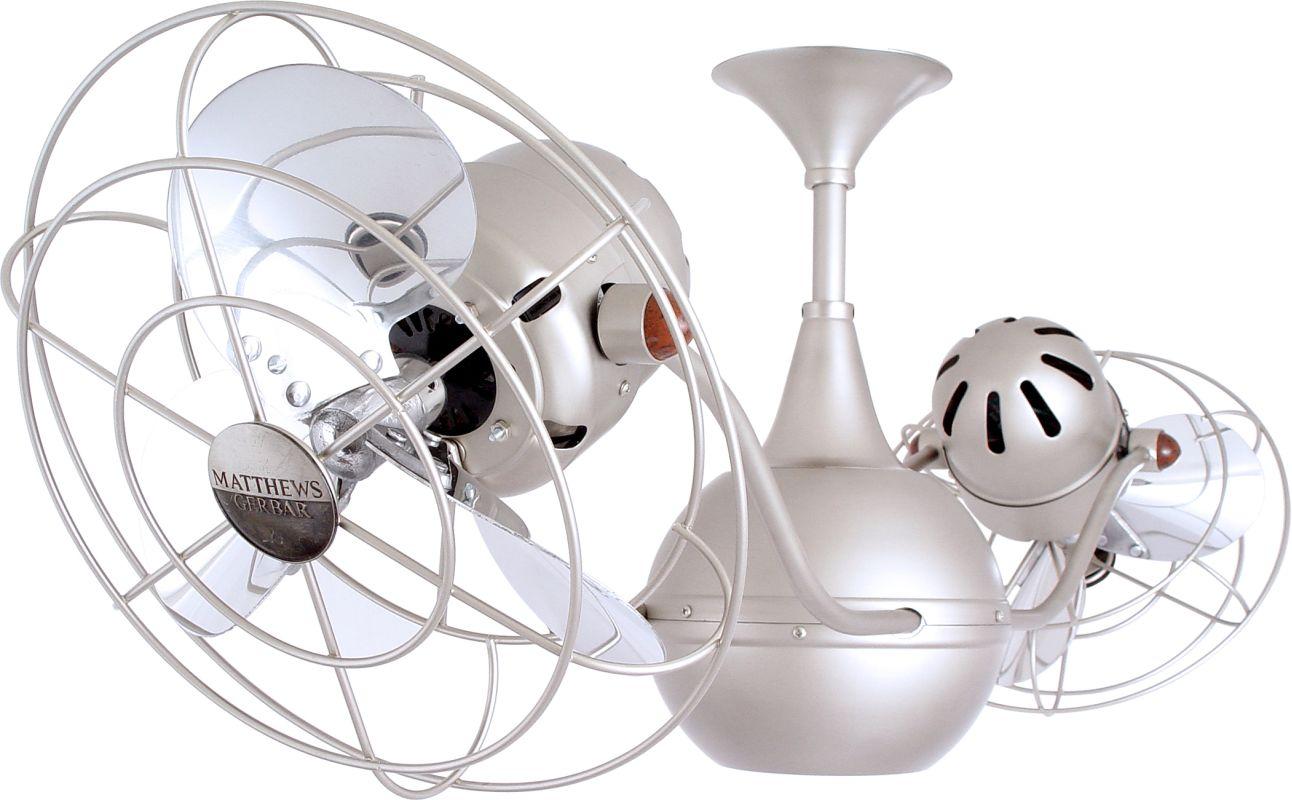 "Matthews Fan Company VB-MTL Vent Bettina 42"" Rotational Ceiling Fan -"