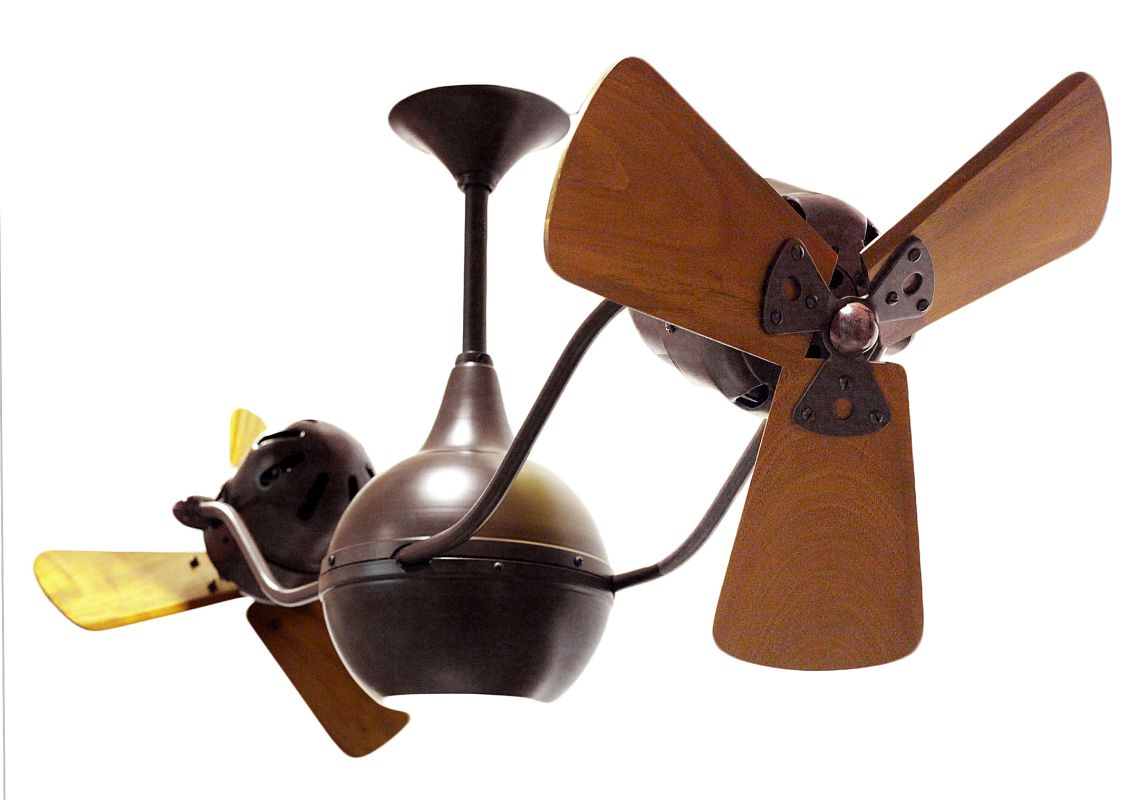 "Matthews Fan Company VB-WD Vent Bettina 44"" Rotational Ceiling Fan -"