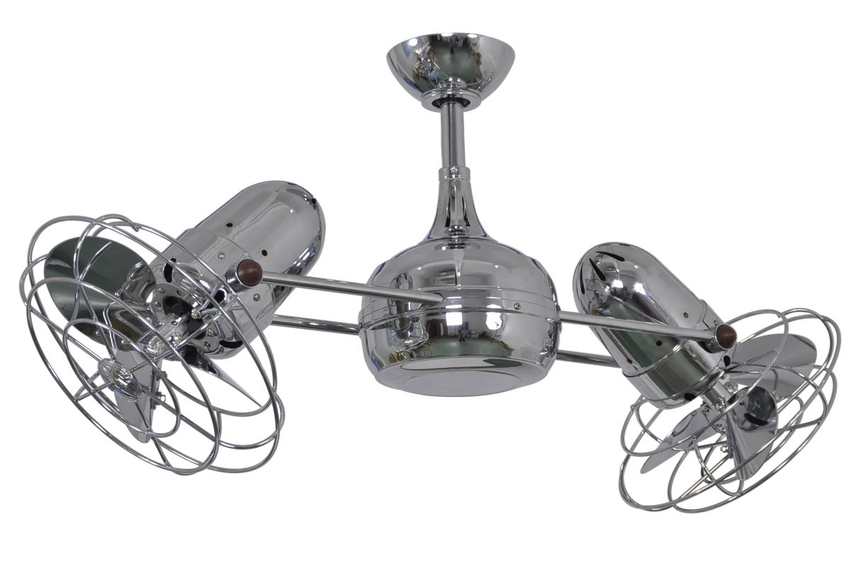 "Matthews Fan Company DG-CR-MTL-DC Atlas Dagny 39"" Dual Rotational"