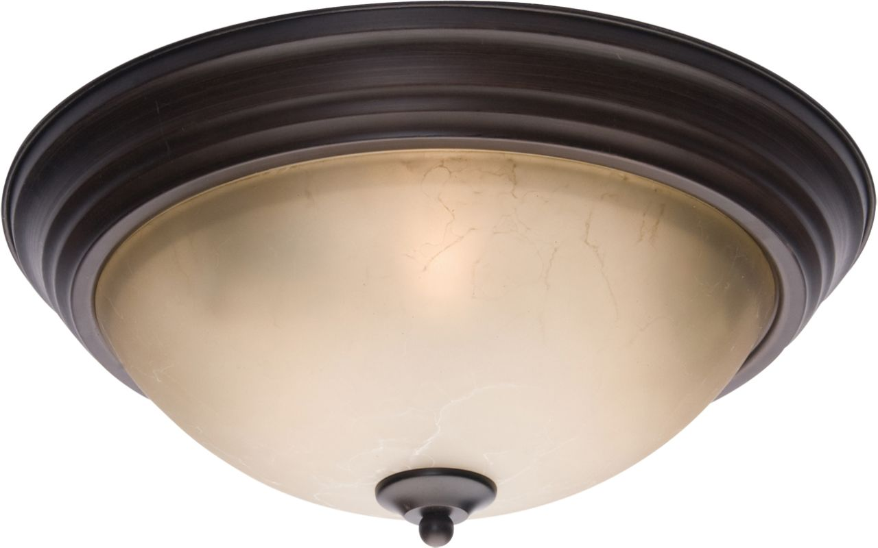 "Maxim 5856 3 Light 15.5"" Wide Flush Mount Ceiling Fixture from the"