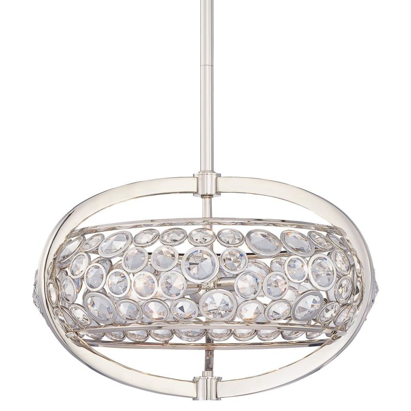 Metropolitan N6752 5 Light Drum Pendant from the Magique Collection Sale $501.50 ITEM#: 1684564 MODEL# :N6752-613 UPC#: 840254038301 :