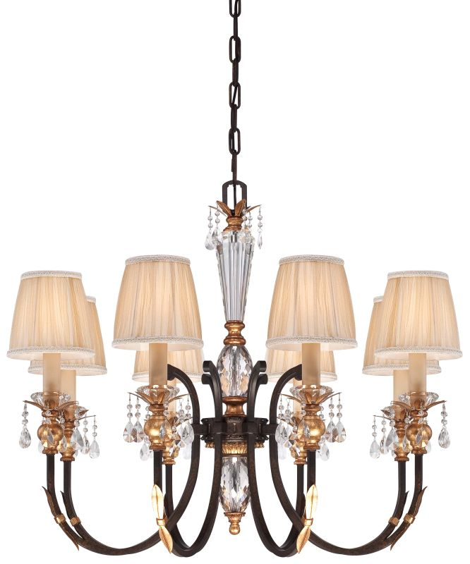 Metropolitan N6648-258B 8 Light 1 Tier Candle Style Crystal Chandelier Sale $1784.95 ITEM#: 2224872 MODEL# :N6648-258B UPC#: 840254041684 :