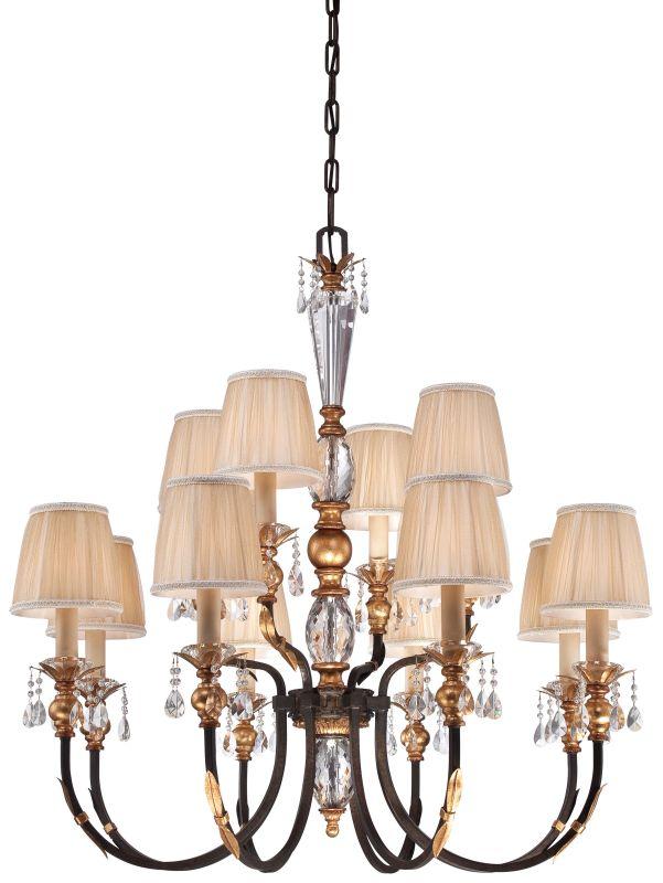 Metropolitan N6649-258B 12 Light 2 Tier Candle Style Crystal Sale $2414.95 ITEM#: 2224891 MODEL# :N6649-258B UPC#: 840254041691 :