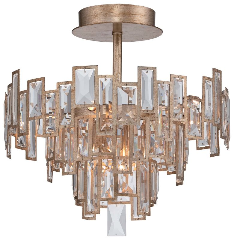 Metropolitan N6672-274 5 Light Semi-Flush Ceiling Fixture from the Bel Sale $944.95 ITEM#: 2453302 MODEL# :N6672-274 UPC#: 840254043060 :