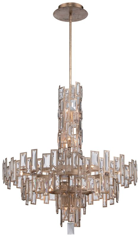 Metropolitan N6678-274 21 Light 2 Tier Crystal Chandelier from the Bel