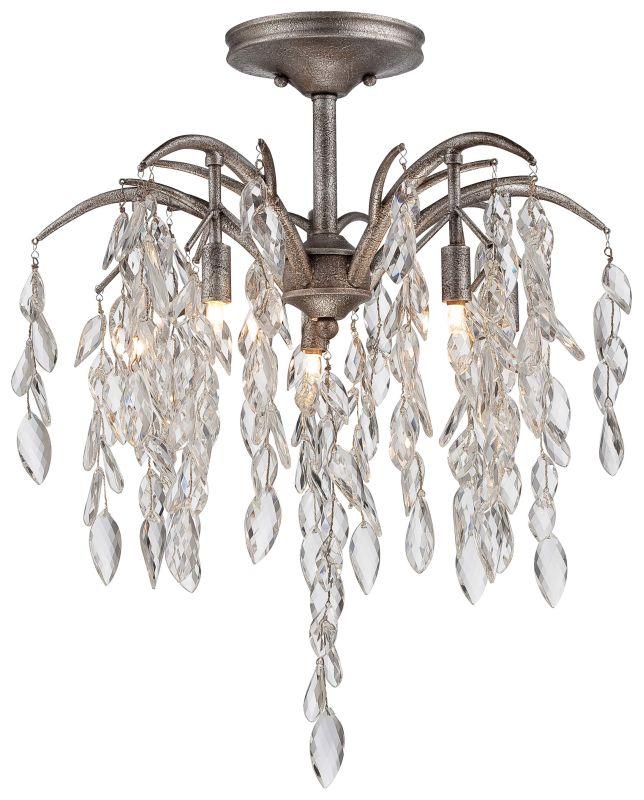 Metropolitan N6865-278 8 Light Semi-Flush Ceiling Fixture from the