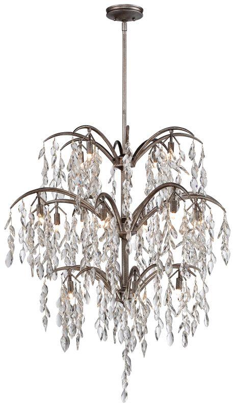 Metropolitan N6867-278 16 Light 3 Tier Crystal Chandelier from the
