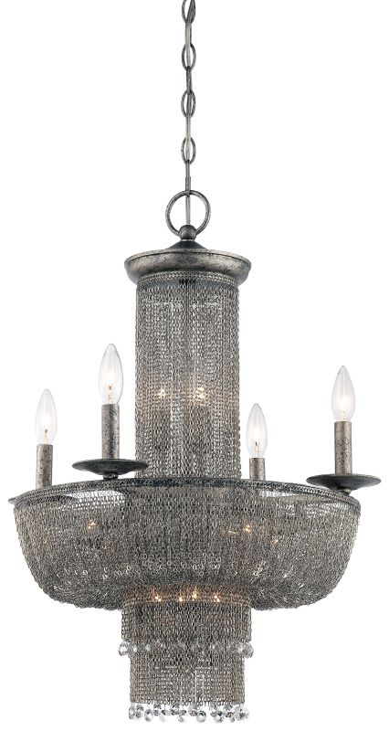 Metropolitan N7215 15 Light 3 Tier Candle Style Chandelier from the