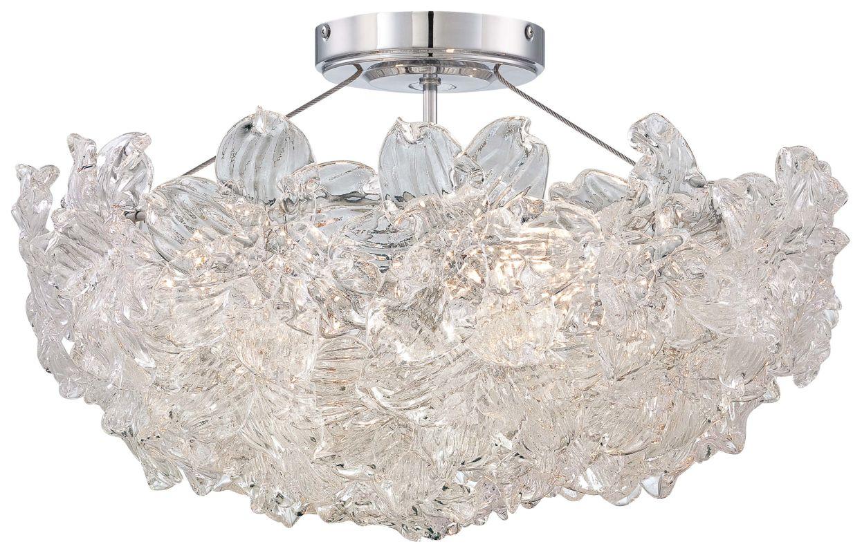 Metropolitan N6630-77 4 Light Semi-Flush Ceiling Fixture from the