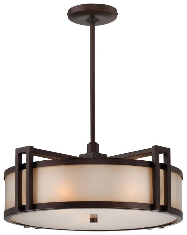 Metropolitan N6966-267B 3 Light Drum Pendant from the Walt Disney