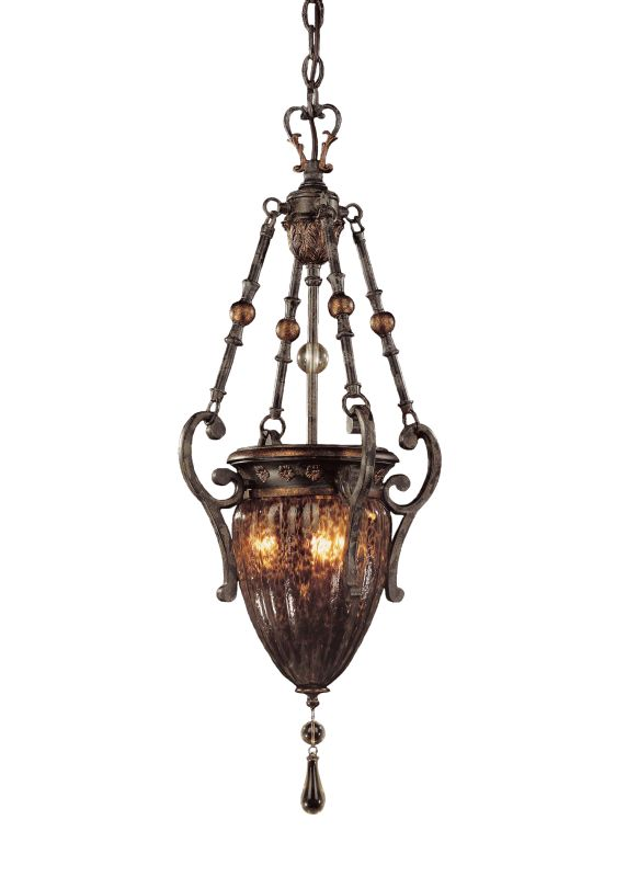 Metropolitan N6083 3 Light Urn Pendant from the Sanguesa Collection