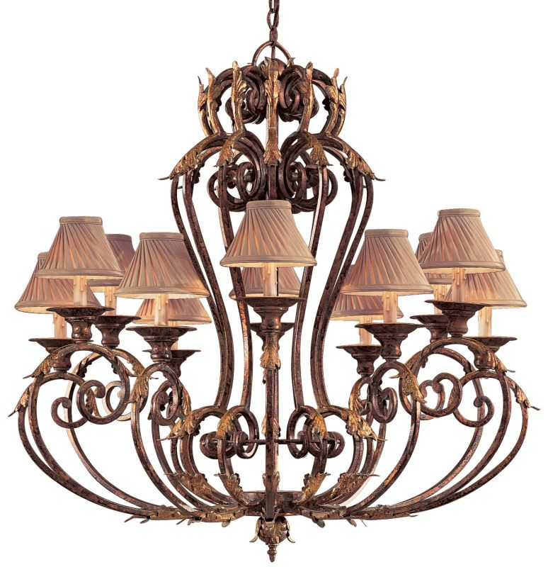Metropolitan N6239 12 Light 1 Tier Candle Style Chandelier from the Sale $2624.95 ITEM#: 353420 MODEL# :N6239-355 UPC#: 840254020818 :