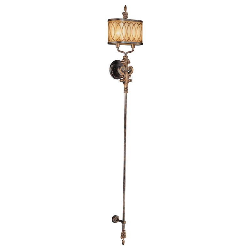 Metropolitan N6482 2 Light Torchiere Wall Sconce from the Terraza