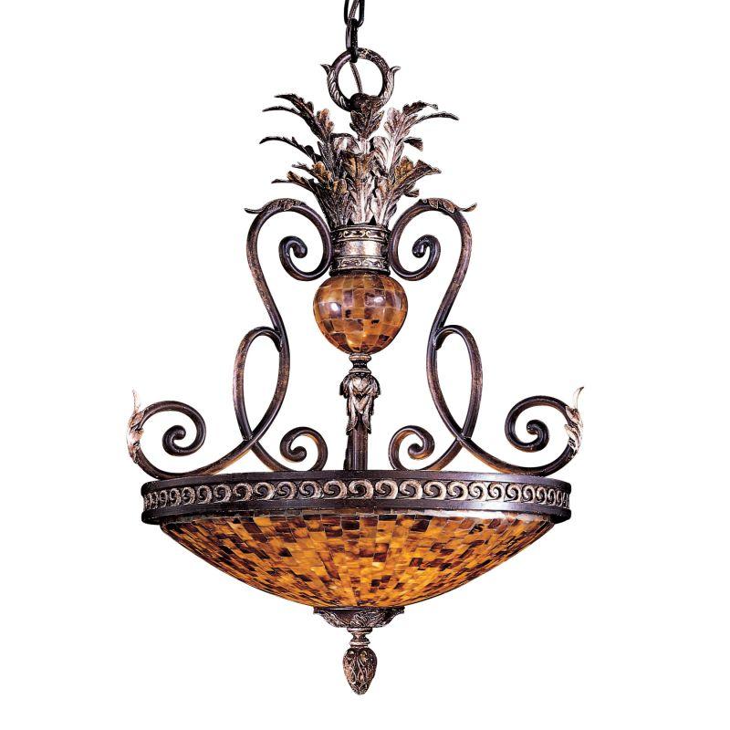 Metropolitan N6513 3 Light Bowl Shaped Pendant from the Salamanca Sale $914.95 ITEM#: 1607902 MODEL# :N6513-468 UPC#: 840254024748 :
