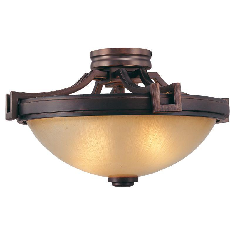 Metropolitan N6960 2 Light Semi-Flush Ceiling Fixture from the