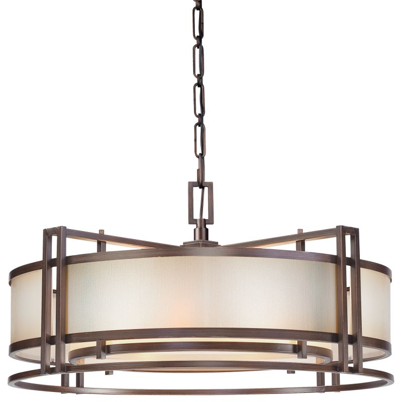 Metropolitan N6965 4 Light Drum Pendant from the Underscore Collection Sale $1459.95 ITEM#: 1811272 MODEL# :N6965-1-267B UPC#: 840254045705 :