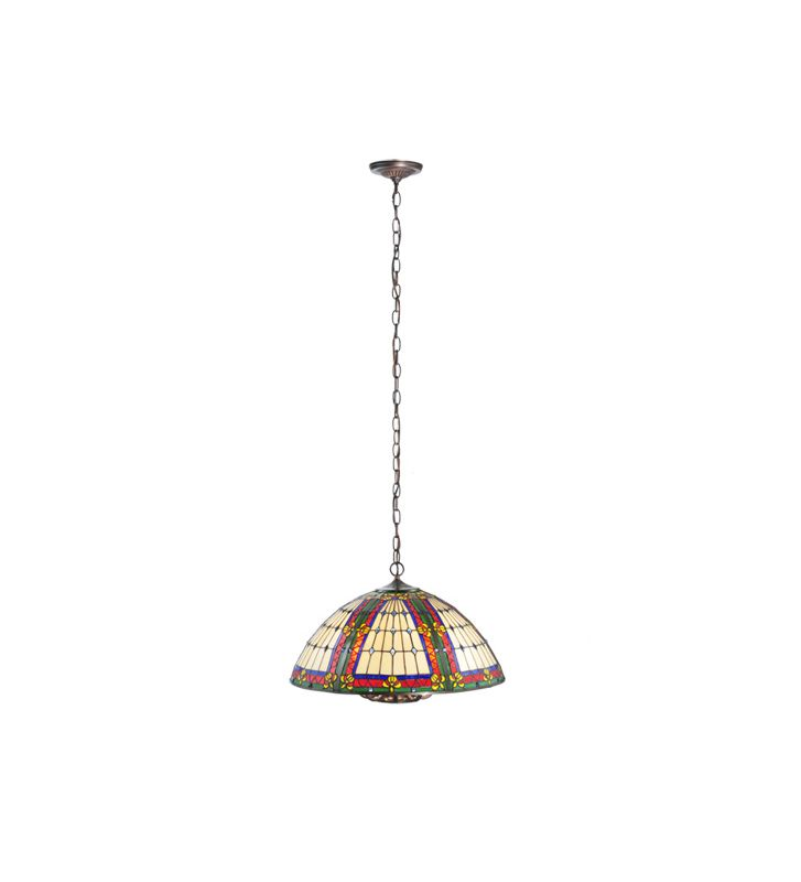 Meyda Tiffany 107111 Tiffany Eight Light Up Lighting Pendant from the