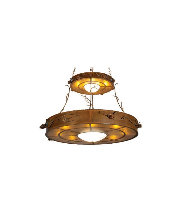 Meyda Tiffany 23812 Sixteen Light Down Lighting Two Tier Chandelier