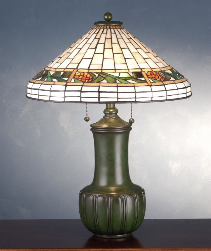 Meyda Tiffany 71437 Stained Glass / Tiffany Table Lamp from the