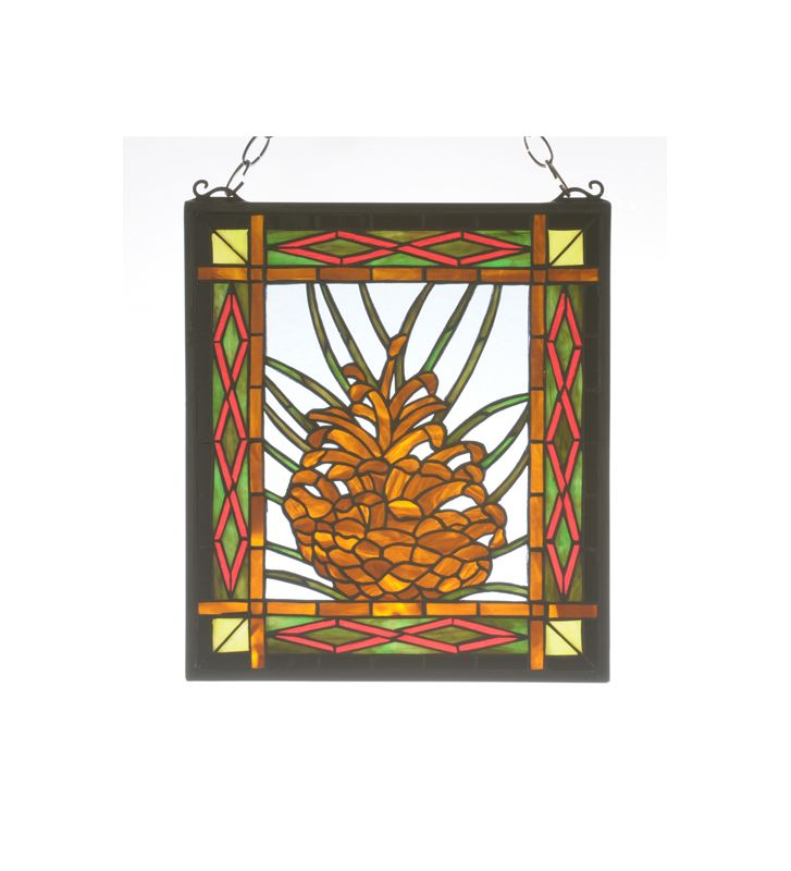 Meyda Tiffany 71903 Tiffany Stained Glass Window Pane from the