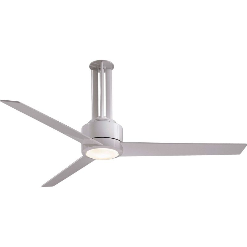 "MinkaAire Flyte 3 Blade 56"" Ceiling Fan - Light Wall Control and"