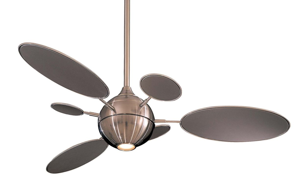 "MinkaAire Cirque 6 Blade 54"" Ceiling Fan - Light and Wall Control"