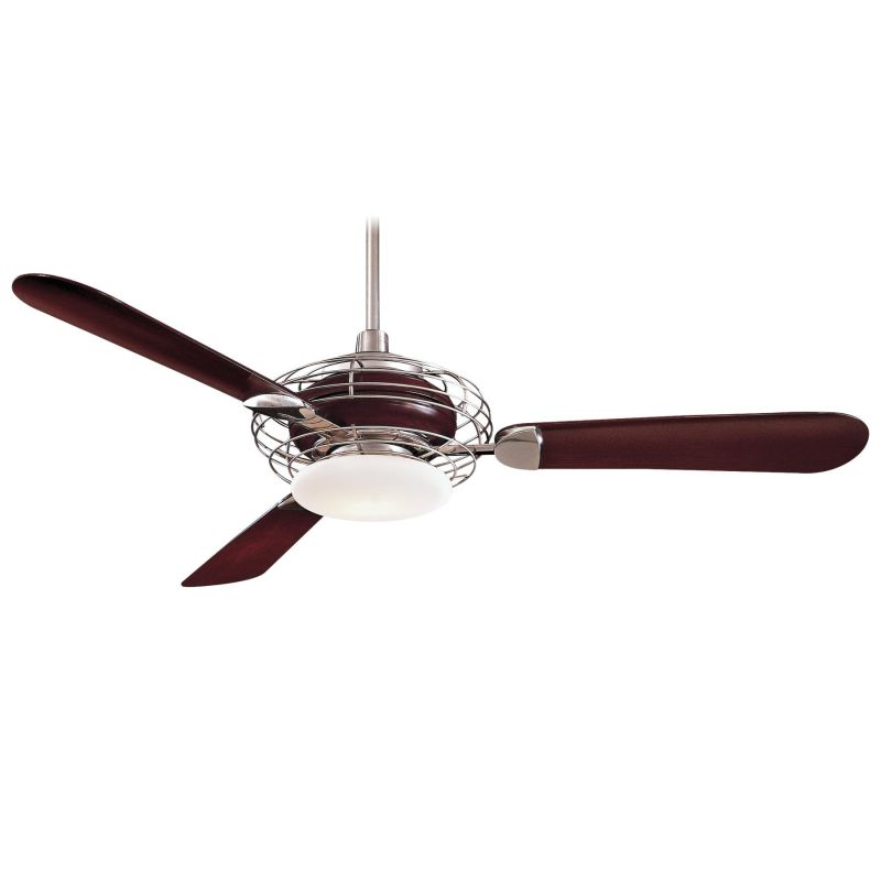 "MinkaAire Acero 3 Blade 52"" Acero Ceiling Fan - Light Wall Control"