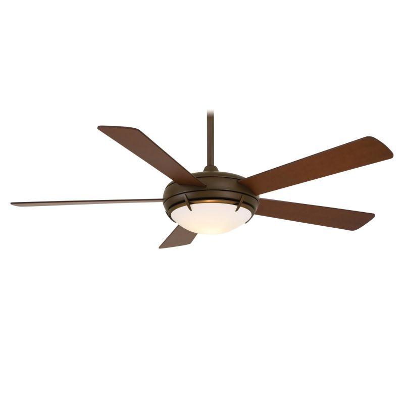 "MinkaAire Como 54"" 5 Blade Como Ceiling Fan - Light Wall Control and"