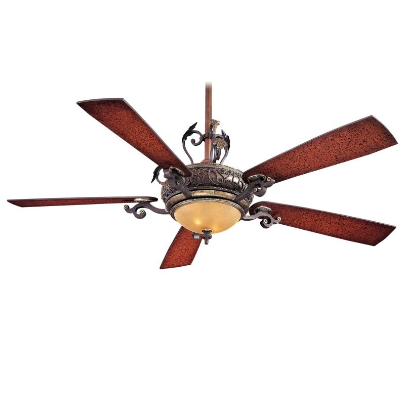 "MinkaAire Napoli 5 Blade 56"" Napoli Ceiling Fan - Integrated Light"