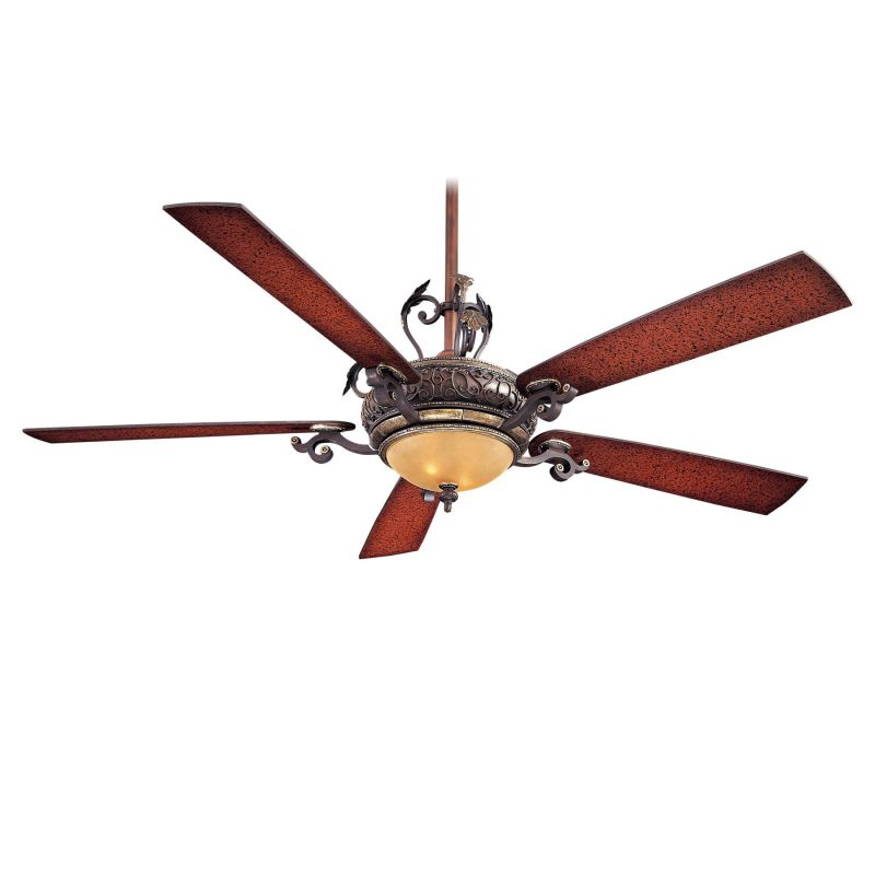 "MinkaAire Napoli 2 5 blade 68"" Napoli 2 Ceiling Fan - Wall Control and"