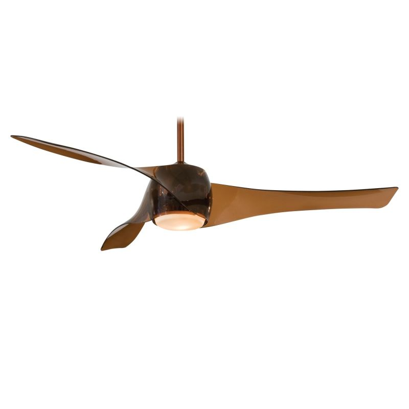 """MinkaAire Artemis 3 Blade 58"""" Ceiling Fan - Light Wall Control and"""