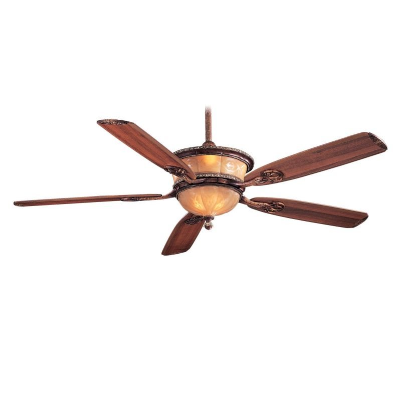 "MinkaAire Santa Lucia 5 Blade 60"" Ceiling Fan - Light Wall Control"