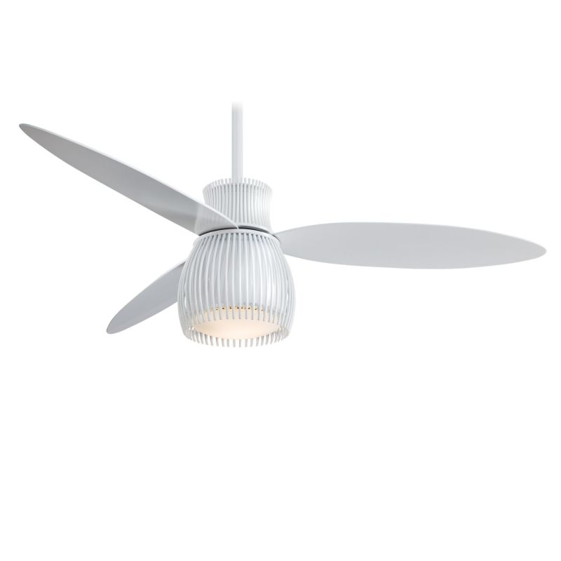 "MinkaAire Uchiwa 3 Blade 56"" Uchiwa Ceiling Fan with Integrated"