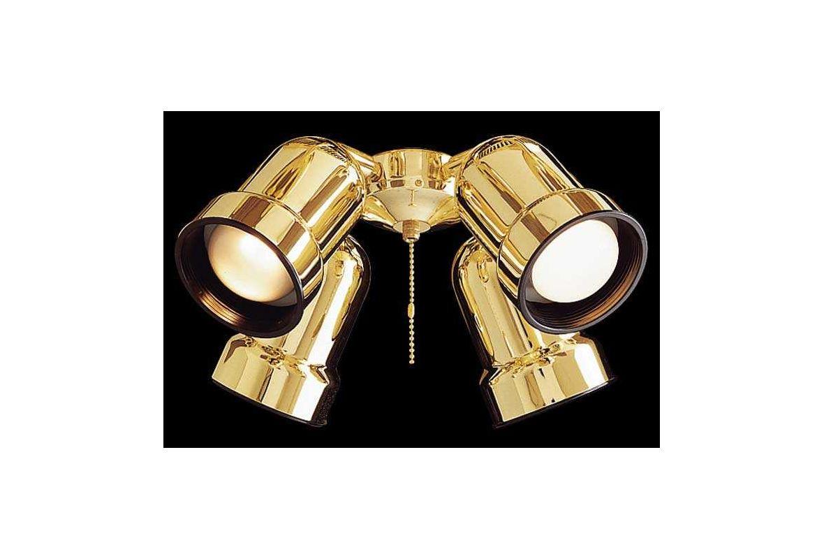 MinkaAire MA K4000 Fan Light Kit Polished Brass Fan Accessories Fan