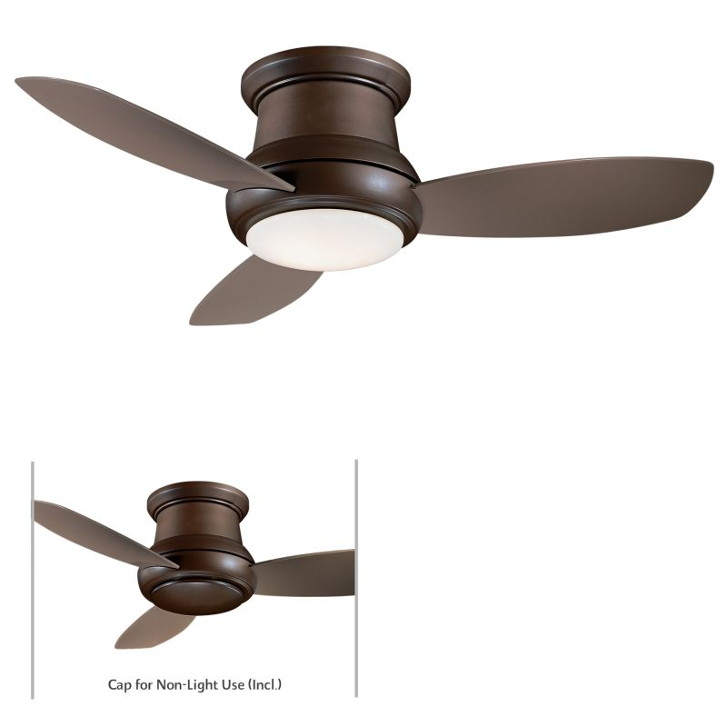 "MinkaAire Concept II 44 3 Blade 44"" Concept II Flushmount Ceiling Fan"