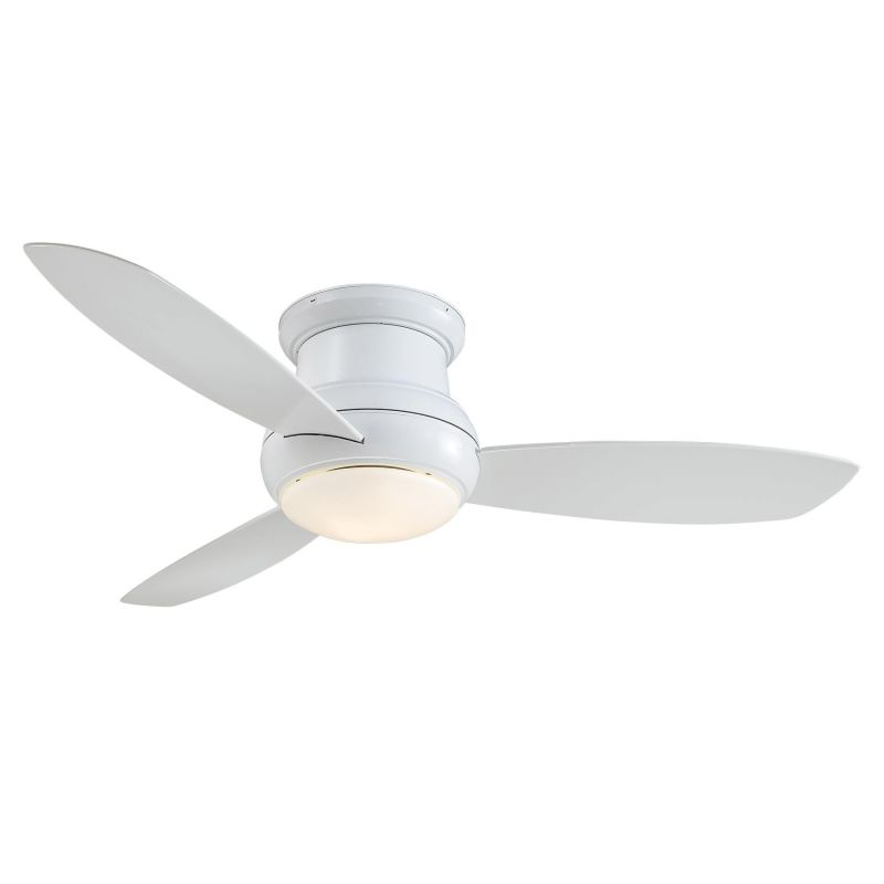 """MinkaAire Concept II - Outdoor 3 Blade 52"""" Flushmount Concept II"""