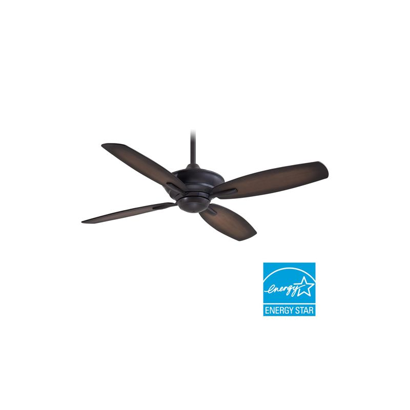 "MinkaAire New Era 52"" 4 Blade Indoor Ceiling Fan with Blades and"