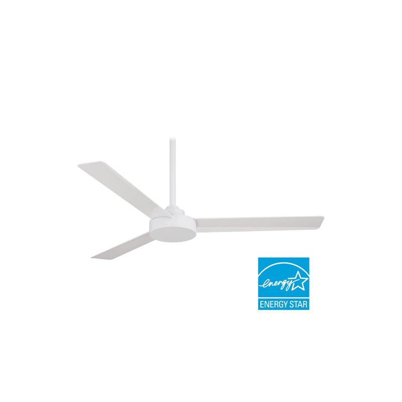 "MinkaAire Roto 52"" 3 Blade Energy Star Indoor Ceiling Fan with Wall"