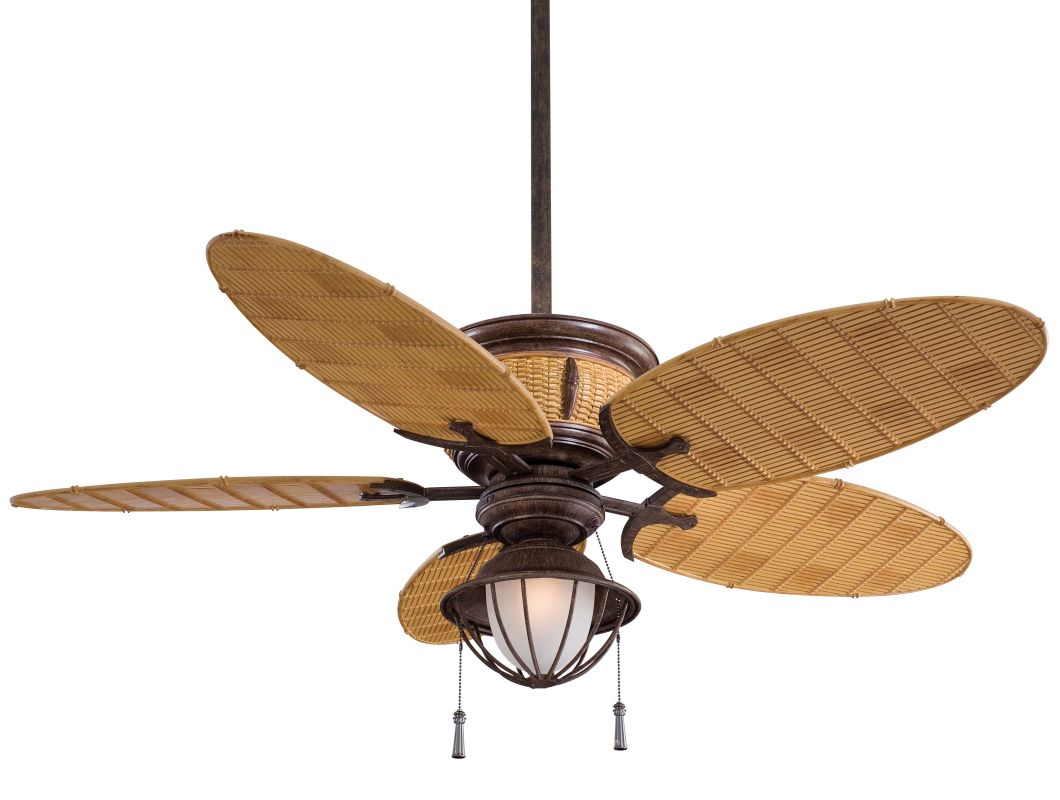 "MinkaAire Shangri-La 5 blade 52"" Indoor / Outdoor Ceiling Fan - Light"