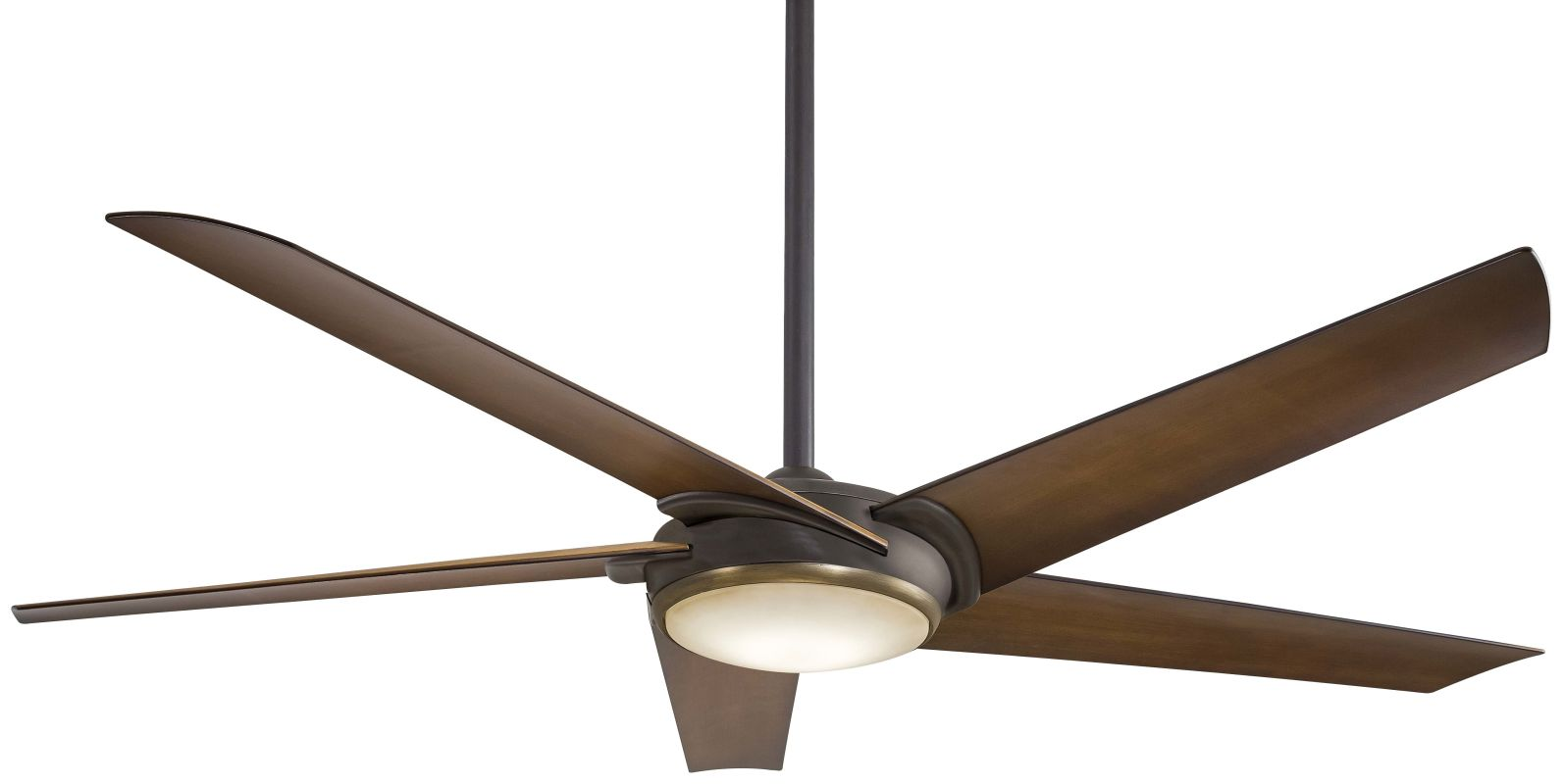 "MinkaAire Raptor 60"" 5 Blade Indoor Ceiling Fan with Integrated LED"
