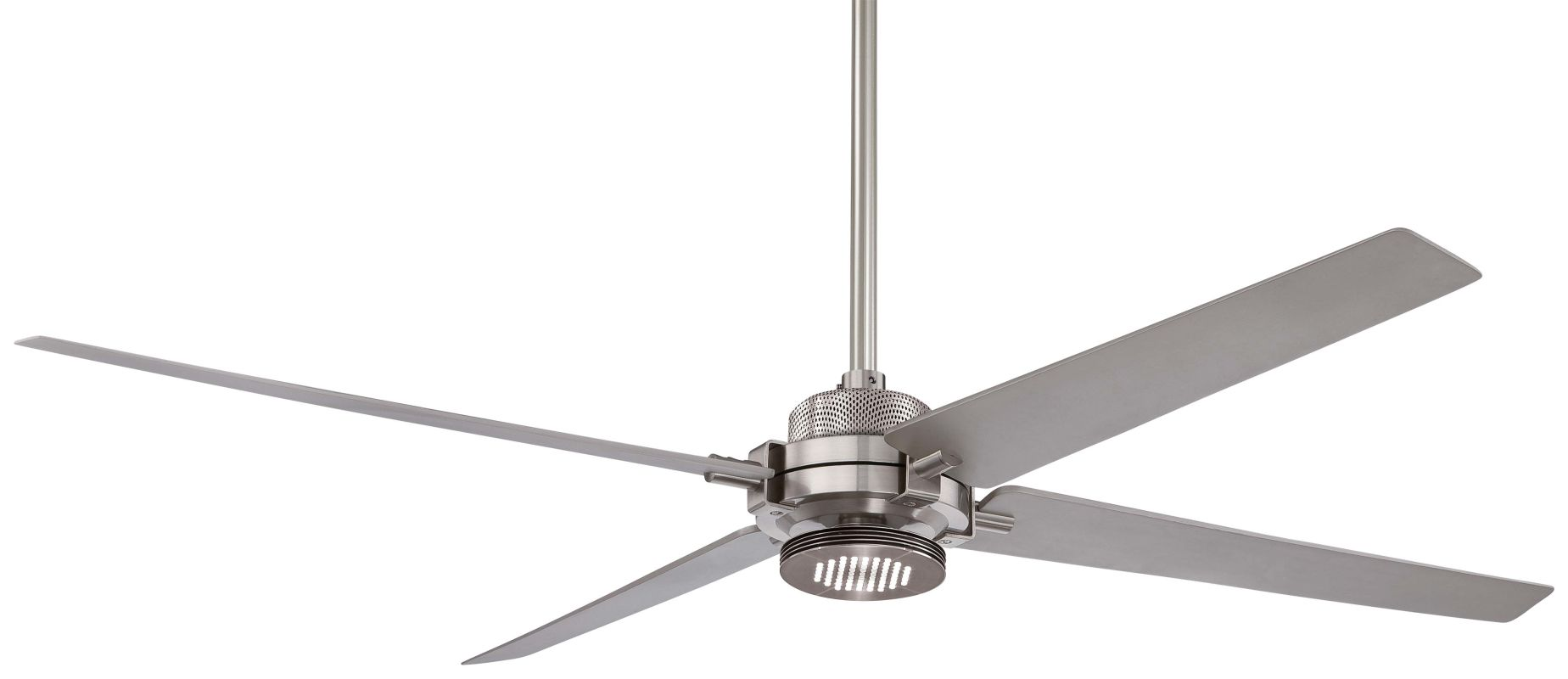"MinkaAire Spectre 60"" 4 Blade Indoor Ceiling Fan with Integrated LED Sale $519.95 ITEM#: 2803175 MODEL# :F726-BN/SL UPC#: 706411052569 :"
