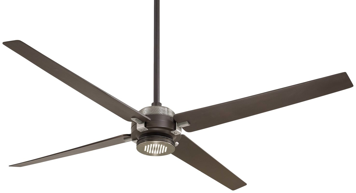"MinkaAire Spectre 60"" 4 Blade Indoor Ceiling Fan with Integrated LED Sale $519.95 ITEM#: 2803184 MODEL# :F726-ORB/BN UPC#: 706411052590 :"