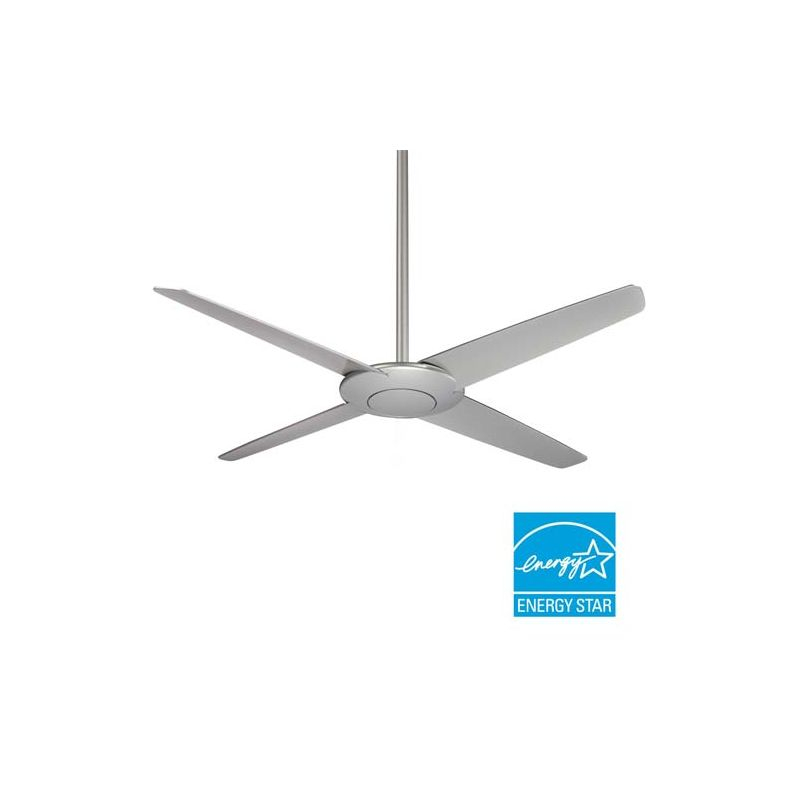 "MinkaAire Pancake 52"" 4 Blade Energy Star Indoor Ceiling Fan with"